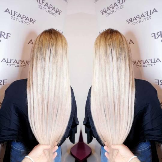 Alfaparf Studio #beograd Nadogradnja kose Nadogradnja kose keratinom / mikroring tehnikom - po prame