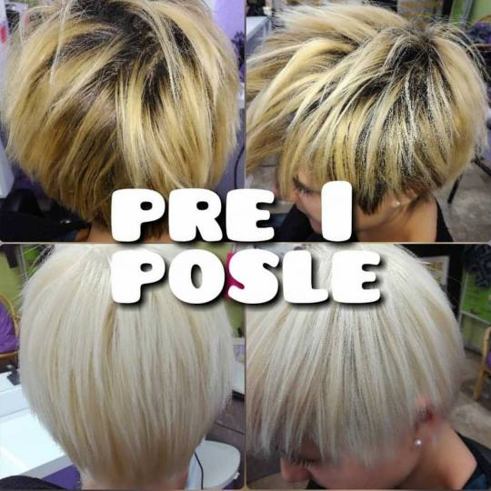 Violet Line #beograd Blajhanje kose Blajhanje cele dužine - kratka kosa Blajhanje kose