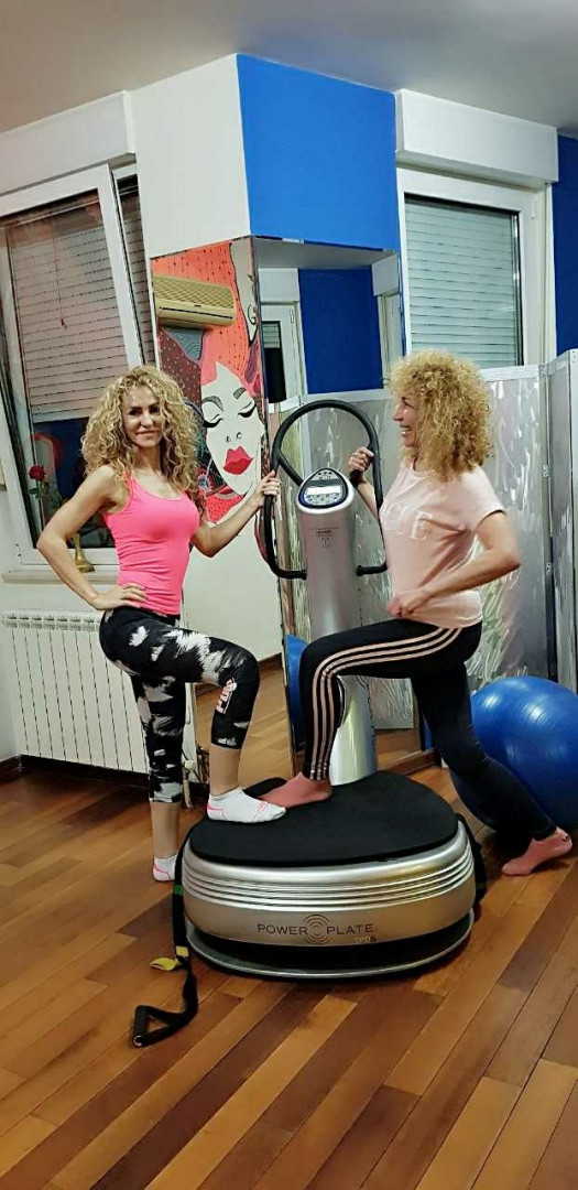LookBook Happy Fitness Studio Lični trening na Power Plate - pojedinačni trening