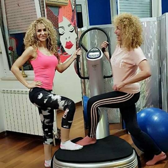 Happy Fitness Studio #beograd Fitness Lični trening na Power Plate - pojedinačni trening za nove �