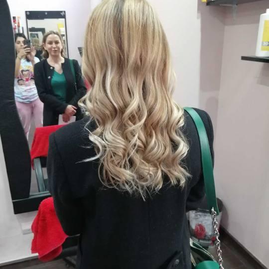 M&M Diva #beograd Pramenovi Pramenovi na foliju 1 boja / blanš - kosa srednje dužine