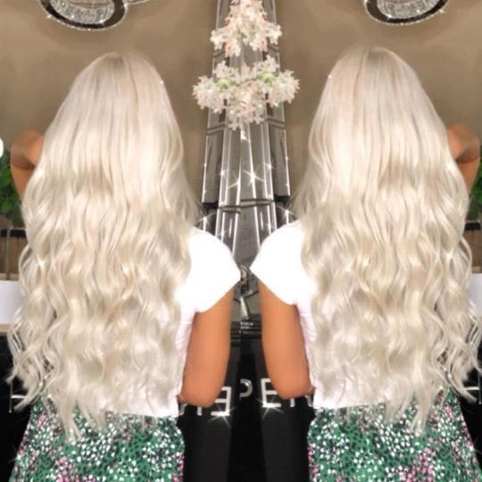 Perfect Hair Salon & Academy by TanYa #beograd Blajhanje kose Blajhanje izrastka - duga kosa Blajhan