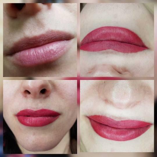Tina B #beograd Trajna šminka Trajna šminka - usne + prva korekcija