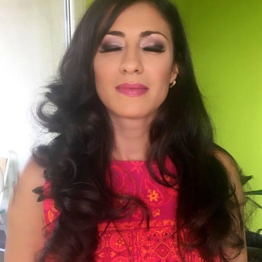 Evesense Beauty #beograd Make-up / šminkanje Profesionalno šminkanje - večernja / svečana šmink