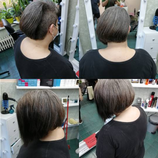 Candir #novisad Žensko šišanje Žensko šišanje - kosa srednje dužine