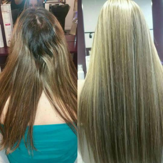 Alfaparf Studio #beograd Pramenovi Izvlačenje pramenova bojom - ekstra duga kosa