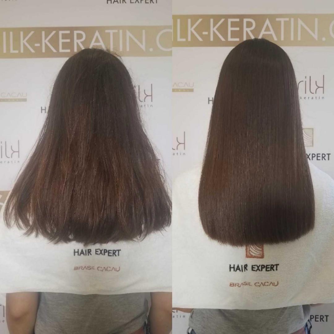 LookBook Beauty Express bar Keratinsko ispravljanje kose Cadiveu Plastica dos fios - duga kosa