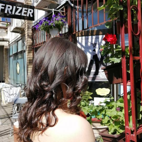Candir #novisad Feniranje i stilizovanje Feniranje na ravno / lokne - ekstra duga kosa