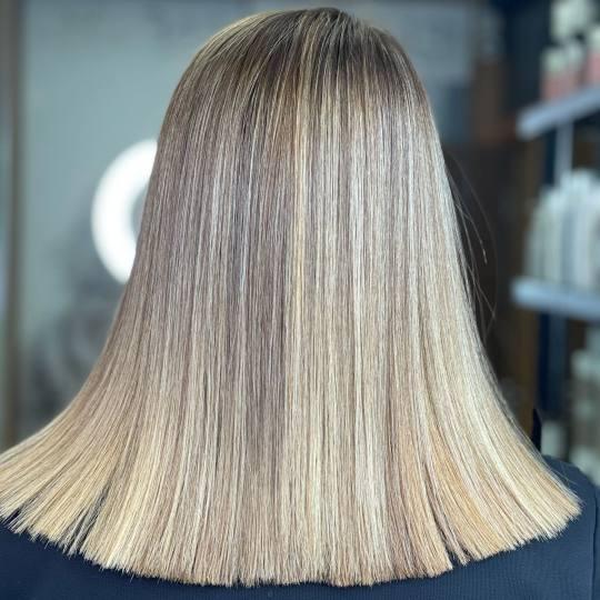 Studio Benvenuto #beograd Nega i ojačavanje kose Keratinsko ispravljanje kose - kratka kosa