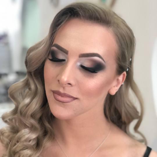 Olymp Beauty #nis Make-up / šminkanje Profesionalno šminkanje + veštačke trepavice - šminka za
