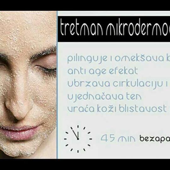 Look at me #beograd Mikrodermoabrazija Tretman mikrodermoabrazije Academie Mikrodermoabrazija