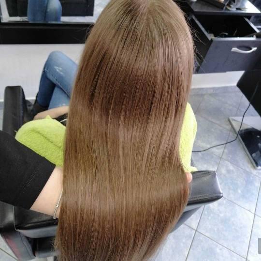 Milica Vlado Profesional #novisad Žensko šišanje Žensko šišanje + feniranje na ravno - duga ko