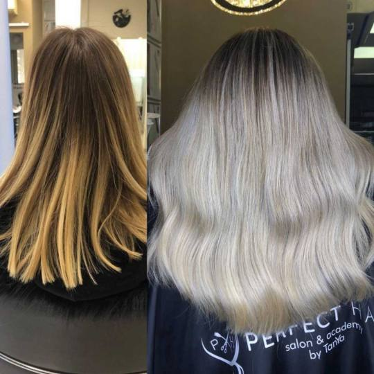 Perfect Hair Salon & Academy by TanYa #beograd Ombre, sombre, balayage Balayage / ombre - kosa sredn