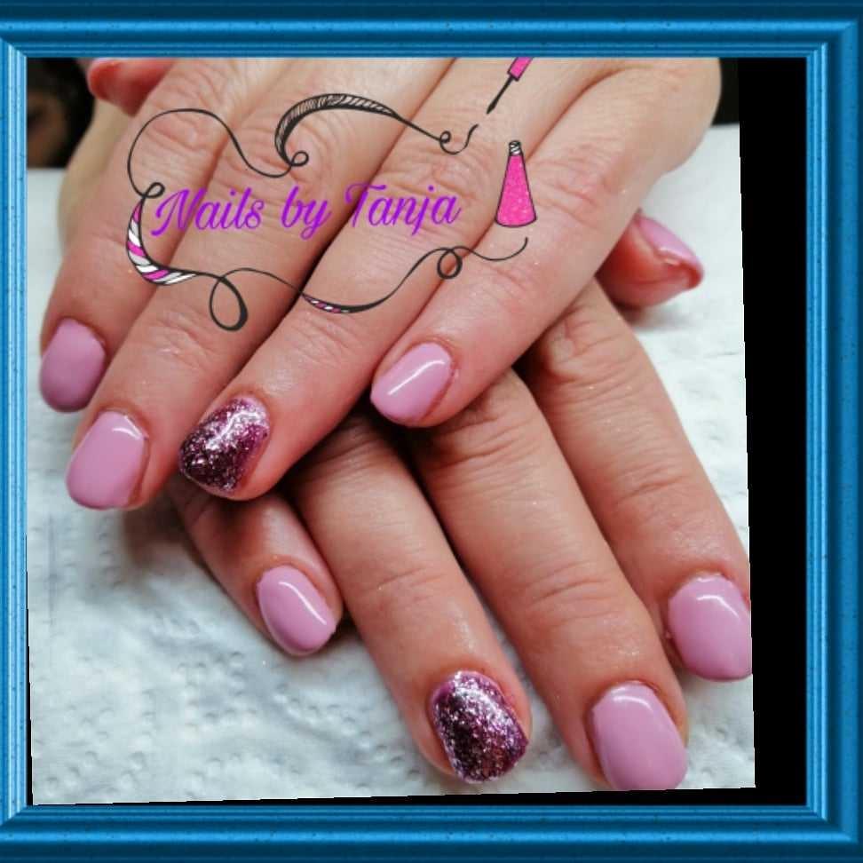 LookBook Maryana style Ojačavanje prirodnih noktiju gelom - kratki nokti