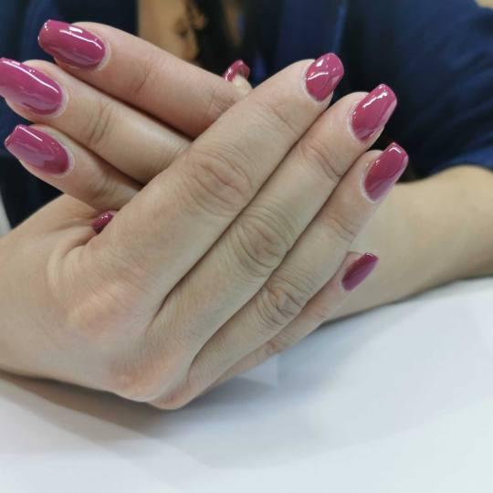 Cecix #beograd Korekcija noktiju Korekcija nadogradnje / izlivanja noktiju