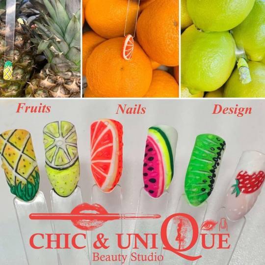 Chic & Unique Beauty Studio #beograd Ukrašavanje noktiju Nail art Zamislite crtez i mi cemo to ispu