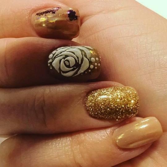 Baroque #beograd Izlivanje noktiju Izlivanje noktiju gelom + gel lak - kraći nokti