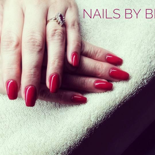 Bibi beauty centar #beograd Korekcija noktiju Korekcija gela crvena je uvek pravi izbor