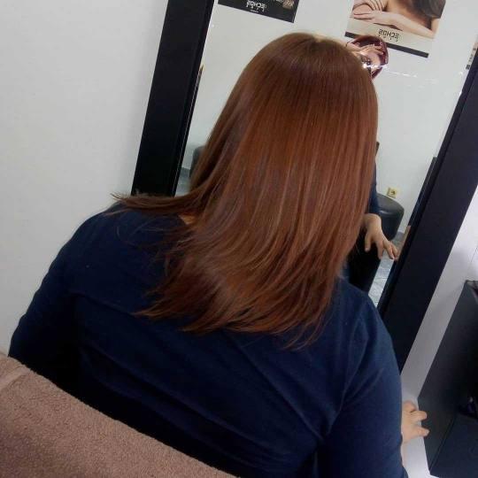 Milica Vlado Profesional #novisad Farbanje kose Farbanje cele dužine - duga kosa