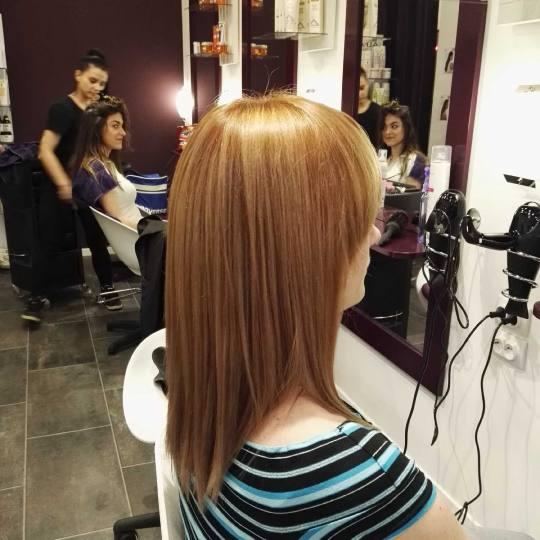 Alfaparf Studio #beograd Farbanje kose Farbanje cele dužine - duga kosa bivša plavuša :) farbanje