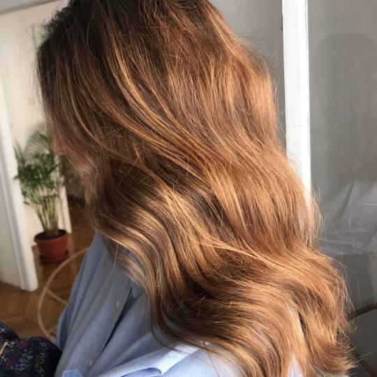 Dalibor Vrtina Hair club #beograd Ombre, sombre, balayage Balayage / senčenje + preliv + olaplex -