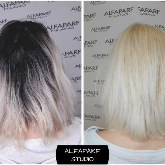 Alfaparf Studio Ada Mall #beograd Blajhanje kose Blajhanje cele dužine - kosa srednje dužine