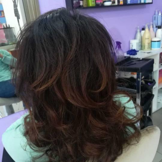 Dora Centar #beograd Farbanje kose Farbanje - kosa srednje dužine