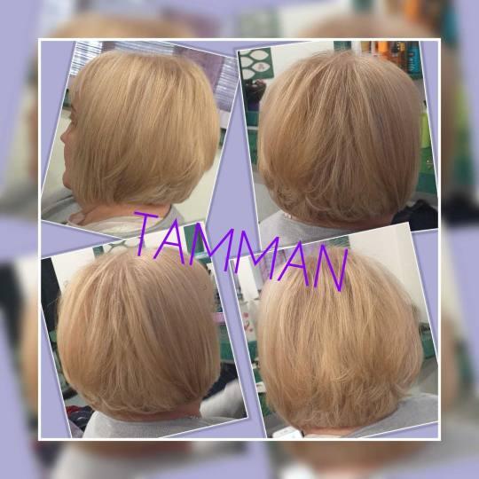 Tamman #beograd Žensko šišanje Žensko šišanje - kosa srednje dužine