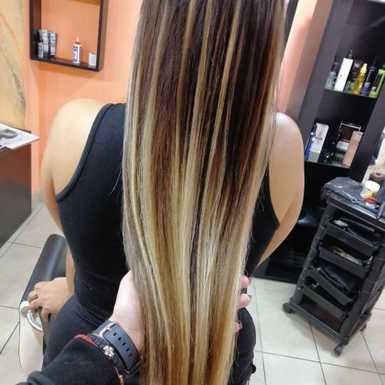 Hair Studio K1 #beograd Nadogradnja kose Uslužna nadogradnja kose keratinom - po pramenu