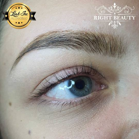 Right Beauty #beograd Trepavice Eyelash lifting + botox trepavica