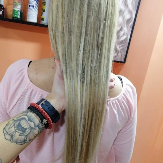 Hair Studio K1 #beograd Posle nadogradnje kose