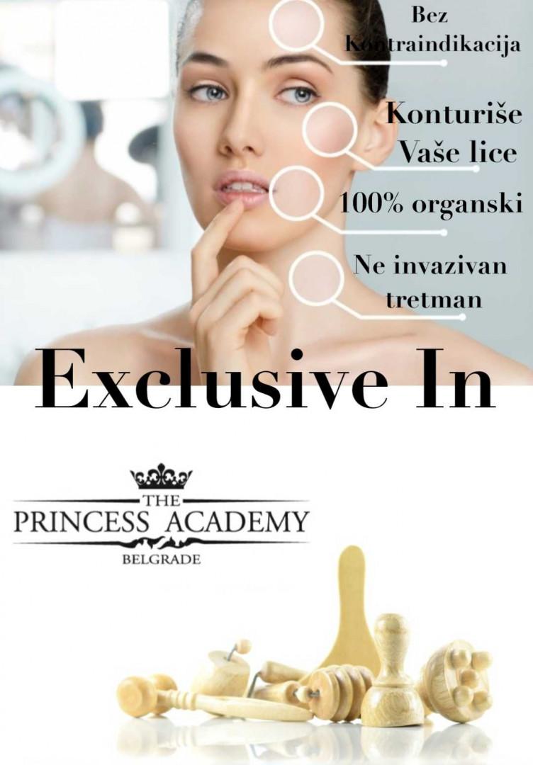 LookBook The Princess Academy Maderoterapija lica  - paket od 10 tretmana