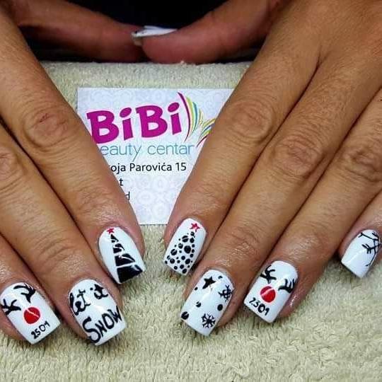 Bibi beauty centar #beograd Izlivanje noktiju Izlivanje noktiju gelom - dugi nokti bibi nails