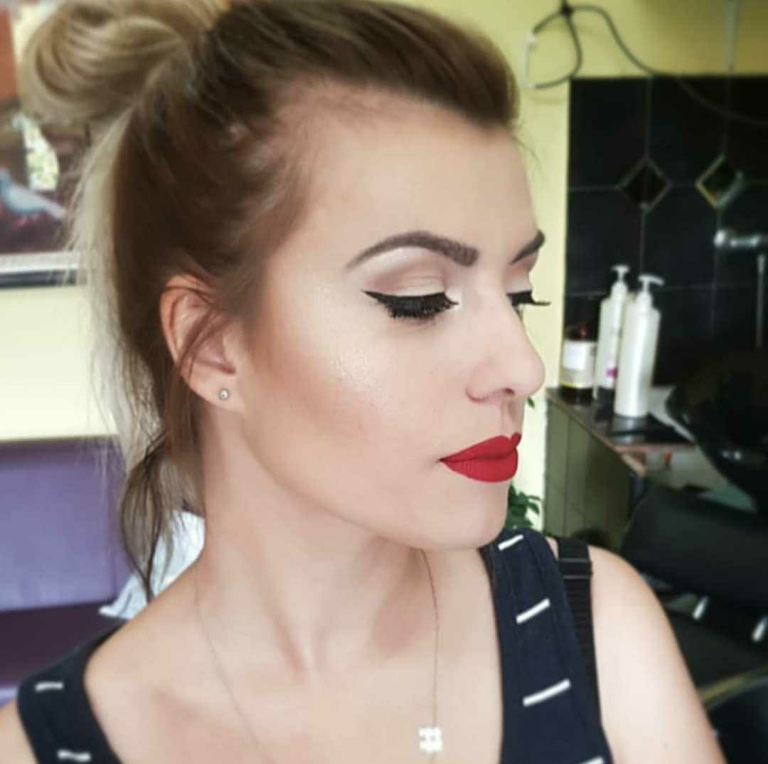 LookBook Bajka 10 Profesionalno šminkanje + veštačke trepavice