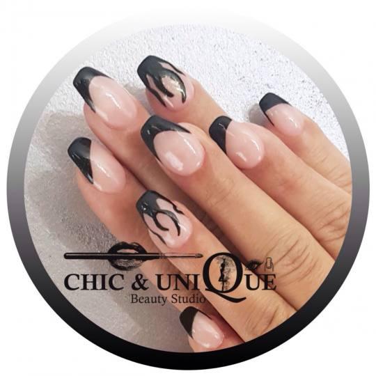 Chic & Unique #beograd Ojačavanje noktiju Ojačavanje noktiju gelom Ojacavanje noktiju gelom sa crt