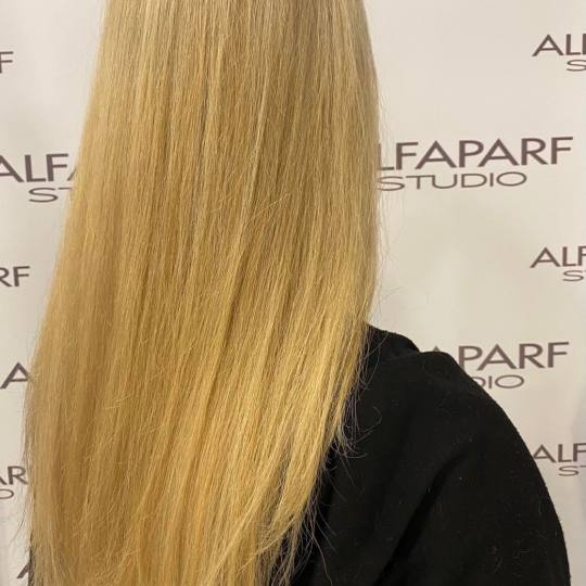 Alfaparf Studio #beograd Farbanje kose Preliv cele dužine - ekstra duga kosa