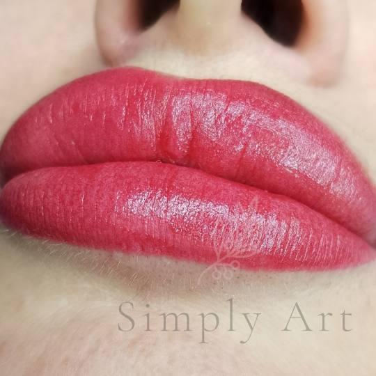 SimplyArt #nis Trajna šminka Trajna šminka usana