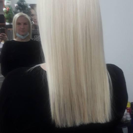 Chic & Shine #beograd Keratinski tretmani Keratinsko ispravljanje kose - duga kosa