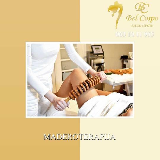 Bel Corpo #beograd Anticelulit masaža Maderoterapija - 45 minuta