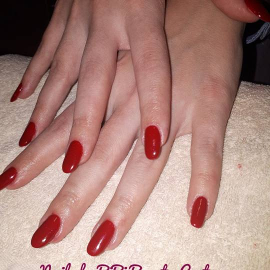 Bibi beauty centar #beograd Korekcija noktiju Korekcija gela red is always IN