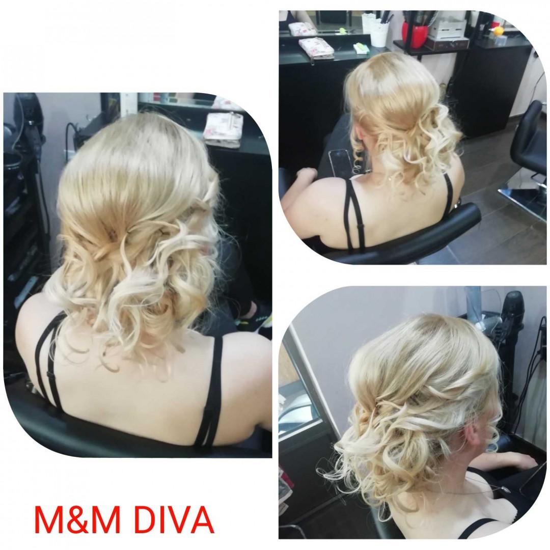 LookBook M&M Diva Svečana frizura - extra složena frizura