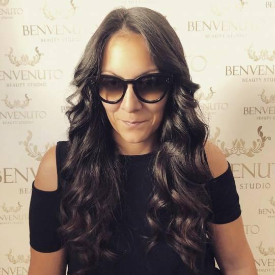 Studio Benvenuto #beograd Feniranje i stilizovanje Feniranje + lokne - ekstra duga kosa talasi na ex
