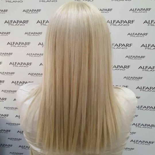 Alfaparf Studio Ada Mall #beograd Blajhanje kose Blajhanje cele dužine - ekstra duga kosa