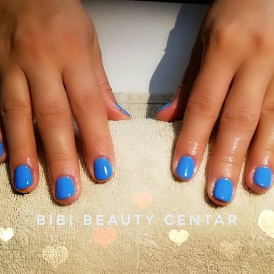 Bibi beauty centar #beograd Gel lak Gel lak - ruke manikir sa gel.lakom bY BiBI