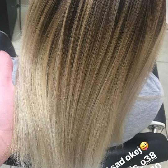 Hair Studio K1 #beograd Farbanje kose Ombre i balayage - srednja dužina kose