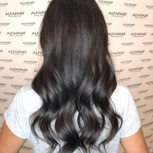 Alfaparf Studio Ada Mall #beograd Farbanje kose Preliv cele dužine - duga kosa
