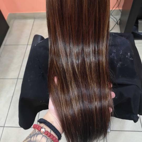 Hair Studio K1 #beograd Farbanje kose Ombre i balayage - duga kosa Posle