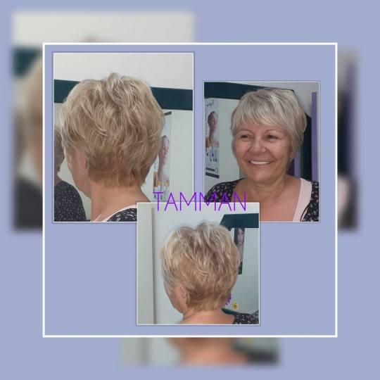 Tamman #beograd Žensko šišanje Žensko šišanje - kratka kosa