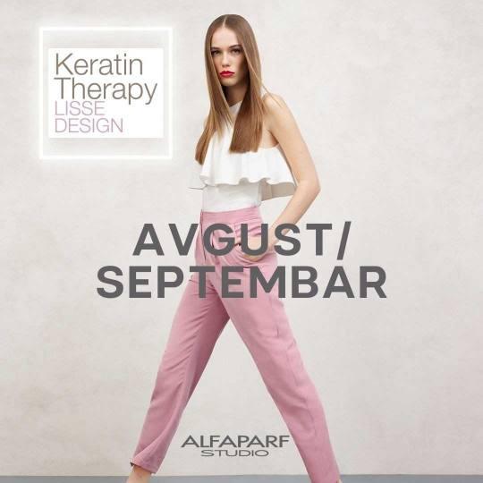 Alfaparf Studio Ada Mall #beograd Ispravljanje kose Ispravljanje kose keratinom + šampon + regenera