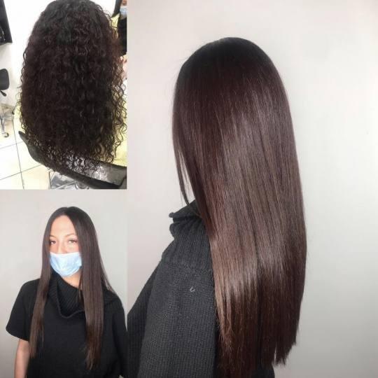 Cut 'n' Go #novisad Žensko šišanje Žensko šišanje + feniranje - duga kosa